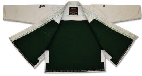 Built ホワイト Inラッシュガードブラジリアン柔術BJJ Gi着物ジャケットのみ ホワイト – ホワイト A2 ホワイト – B00855CC8A, 格安:689a3a3c --- capela.dominiotemporario.com