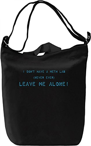 Meth lab Borsa Giornaliera Canvas Canvas Day Bag| 100% Premium Cotton Canvas| DTG Printing|