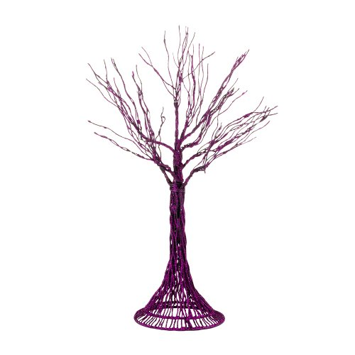 Department 56 Accessories for Villages Halloween Haunted Branches Purple Tree, 3.54 inch ()