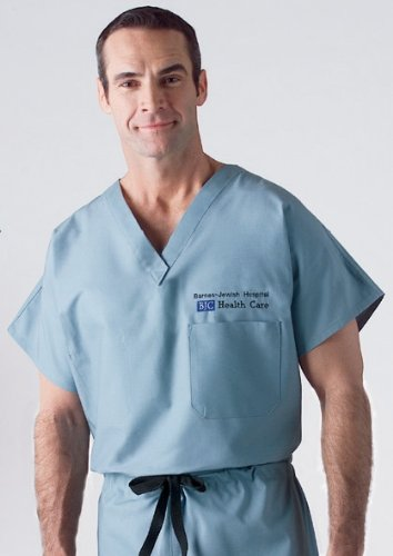 Medline Cotton Unisex Reversible Scrub