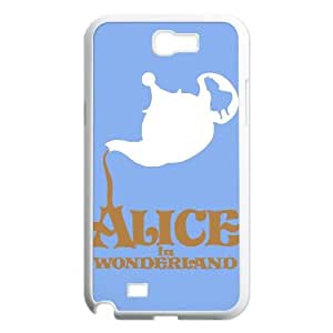 Samsung Galaxy N2 7100 Cell Phone Case Covers White Alice in Wonderland VWR