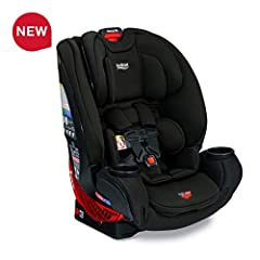 One4Life takes your child from birth to big kid with Britax Safety and ClickTight Installation. It easily converts from a rear facing infant car seat, to a forward facing 5 point harness, to a high back belt positioning booster seat. SafeWash...