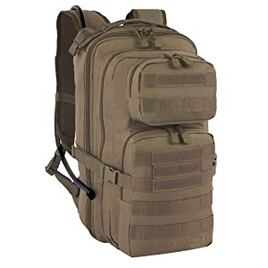 Fieldline Tactical Surge Hydration Pack with 2-Liter Reservoir, 22.2-Liter Storage, Coyote