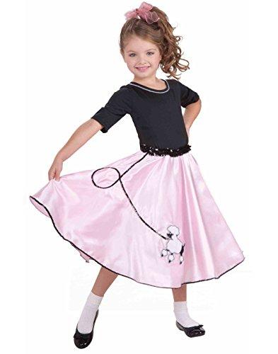 Forum Novelties Pretty Poodle Princess Costume, Child's (Child 50s Hop Costumes)