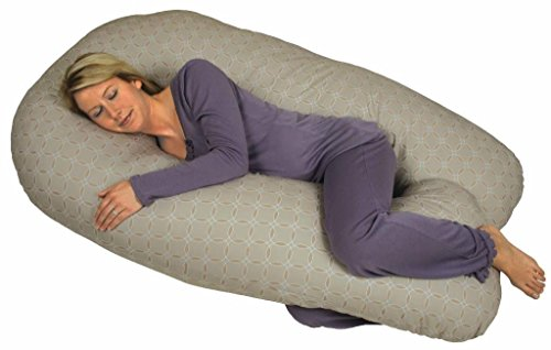 Leachco Back N Belly Contoured Body Pillow - Leachco Back 'N Belly Chic -