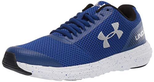 Under Armour Boys' Grade School Surge RN Sneaker, Royal (404)/White, 3.5