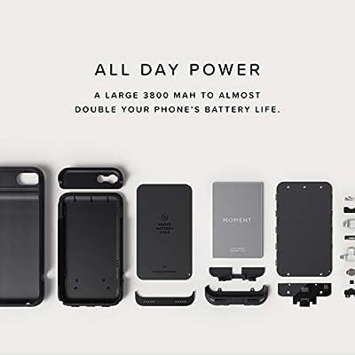 Moment - Carcasa para iPhone 8 Plus y iPhone 7 Plus (batería ...