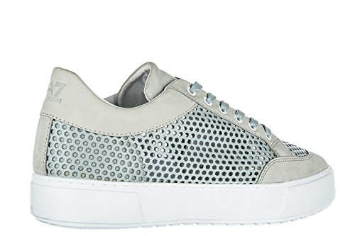 Emporio Armani EA7 Zapatos Zapatillas de Deporte Hombres EN Piel Nuevo Classic y