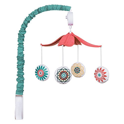 Trend Lab Play Musical Mobile, Waverly Baby Pom Pom by Trend Lab