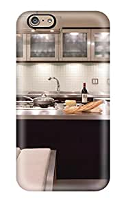 Hot For Modern Stainless Steel Kitchen With Island Protective Case Cover Skin/iphone 6 Case Cover 4341261K37389692
