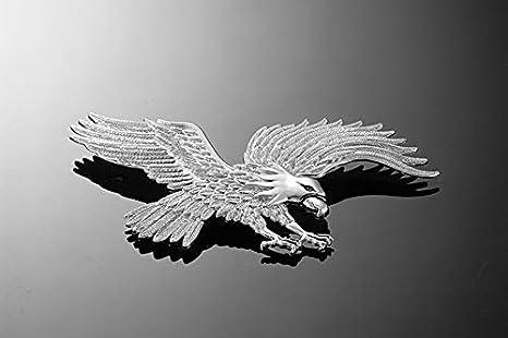Highway Hawk Aigle avec but/ée /à ailettes Chrom/é Taille L