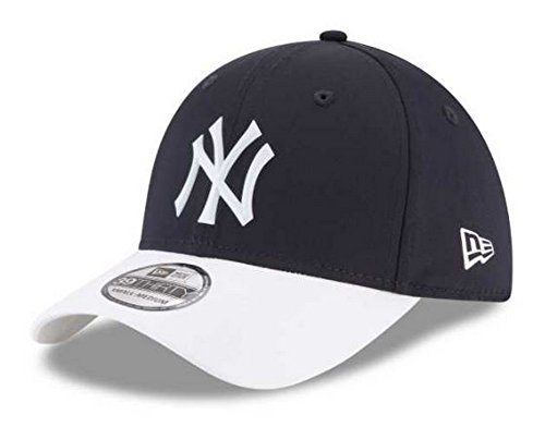 New York Yankees New Era 2018 On-Field Prolight Batting Practice 39THIRTY Flex Hat - Navy/White (L/XL) ()