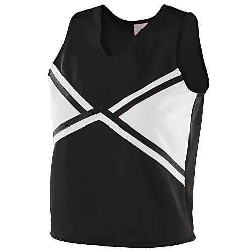 Augusta Sportswear Girls' EXPLOSION SHELL S Black/White