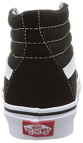 Vans K Sk8-Hi - Zapatillas altas infantiles Negro (Black/True White)