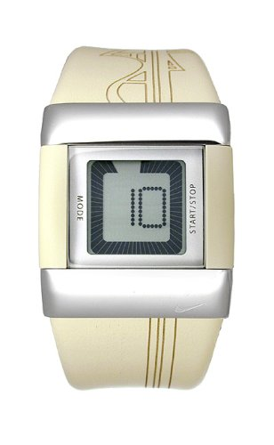 Nike Digital Wrist Watch (Nike Women's C0027-772 Merge Uplift Vegas Gold Digital Watch)