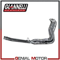 71214IN Colectores Racing Giannelli Acero Inox para GSX-R