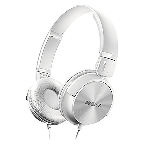 White Headphone Philips - Philips SHL3060WT/27 DJ Style Headphones White