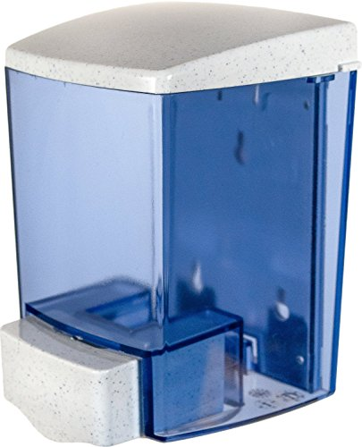 San Jamar S30TBL Classic Wall-Mount Liquid Soap Dispenser, 30 oz Capacity, Arctic Blue -