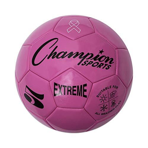 Champion Sports Extreme Series-Balón de fútbol, tamaño rosa, 5