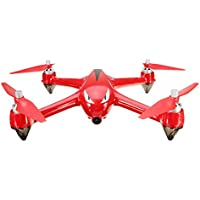 SUPOW RC Quadcopter Drone, B2W 1080P HD 5G Wifi Camera 2.4GHz 6-Axis Gyro FPV Drone Remote Control Drone Folding Aircraft (Red)