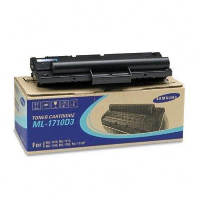 Brand New Samsung Ml1710d3 Toner/Drum 3000 Page-Yield Black