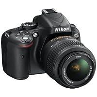 Nikon D5100 16.2MP Digital SLR Camera (Black) with AF-S 18-55mm VR Lens, 8GB Card, Camera Bag