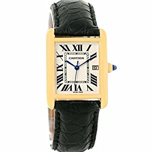 Cartier Tank Louis quartz mens Watch W1529756 (Certified Pre-owned)