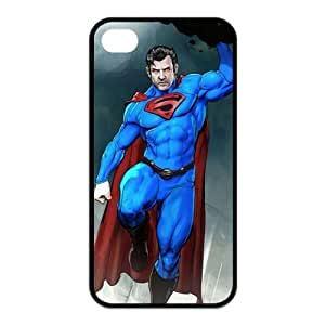 6 4.7 Case,TPU iphone 6 4.7 Case,Superman Design Fashion Pattern Hard Back Cover Snap on Case for iphone 6 4.7 (Black/white)