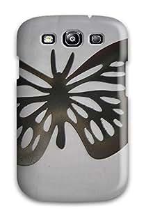 New Arrival KIdUBYG3477hGhNP Premium Galaxy S3 Case(metal Art )