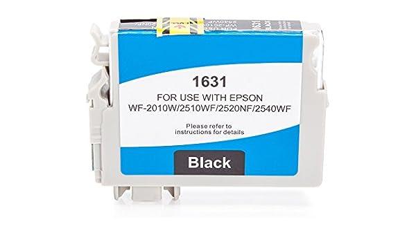 printyo® Cartucho d tinta C13T16314010 Negro Compatible para ...