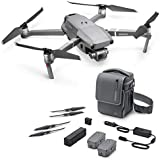 "2018 DJI Mavic 2 Pro Fly More Combo, Drohne mit Hasselblad Kamera HDR Video Variable 20MP 1"" CMOS Sensor (3 Batterien, Autoladegerät, Batterieladestation, 10 geräuscharme Propeller, Schultertasche)"