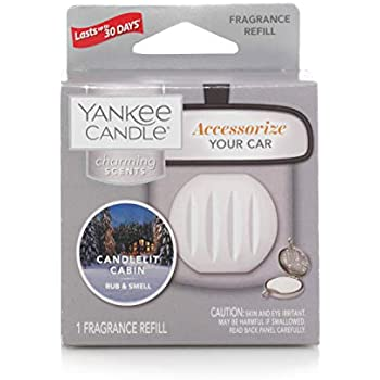 Yankee Candle Company Fragrance Charming Candlelight Cabin | Scented Air Freshener Refill