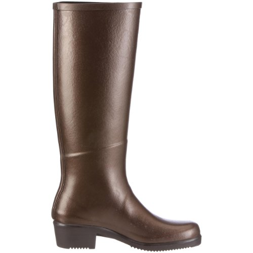 Aigle 85856 - Botas de cuero para mujer Marrón