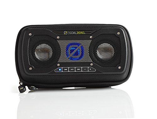 Goal Zero Rock Out 2 Solar Rechargeable Speaker, Black (Best Speakers For Rock Music)