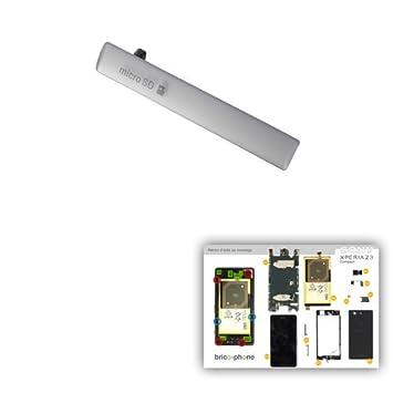 Cache para puerto USB y tarjeta Micro SD color blanco ...