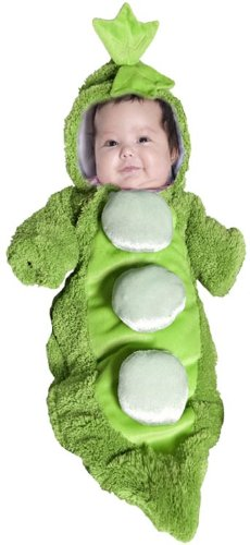 Pea in a Pod Baby Bunting (Pod Bunting Costumes)