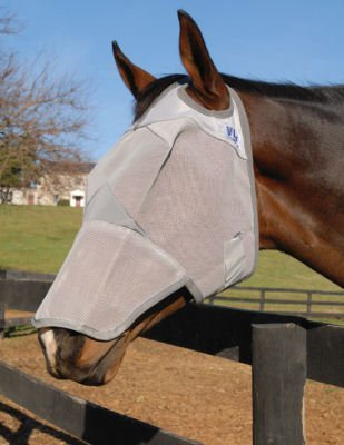 Cashel Crusader Fly Mask with Long Nose - Size: Mini, Foal
