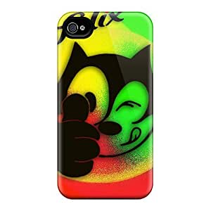 Excellent Hard Phone Case For Iphone 6plus With Customized HD Felix The Cat Image PhilHolmes