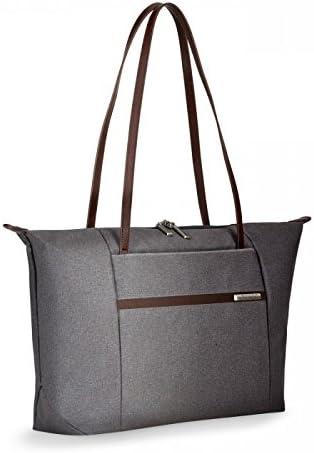 Briggs Riley Kinzie Street-Horizontal Tote Bag, Grey, One Size