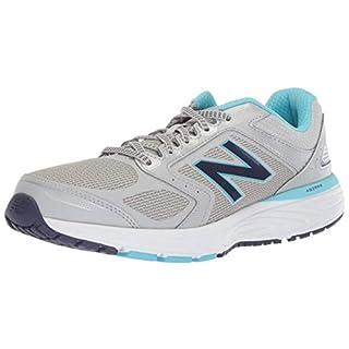 New Balance Women's 560 V7 Running Shoe, rain Cloud/Enamel Blue/Wild Indigo, 5.5 B US