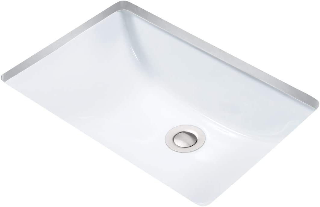 Miseno MNO1812RU Undermount 18 X 12 Bathroom Sink with Integrated Overflow