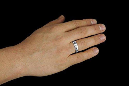 El Señor de los Anillos – El anillo único - con una cadena de 60 cm - acero inoxidable (32 (22,92 mm))