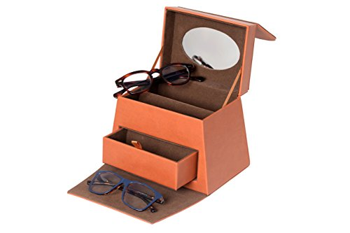 Eyeglass Organizer   1 Drawer- 4 Slot Eyeglass Holder   Display with - Miami Eyeglasses