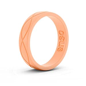 Enso Womens Infinity Silicone Ring