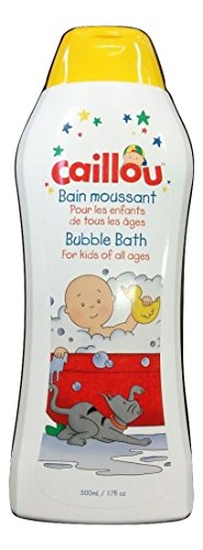 Caillou Bubble Bath for Kids of All Ages 17 Fl Oz