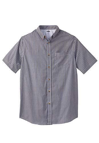 KingSize Men's Big & Tall Short-Sleeve Sport Shirt