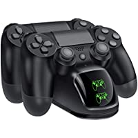 BEBONCOOL E20-UK PS4 Controller Charger, DualShock 4 USB...