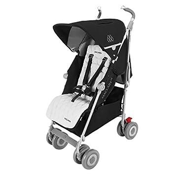 Amazon.com : Maclaren Techno XLR Stroller, Black/Silver : Baby