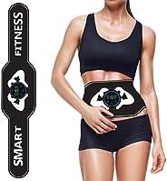 Badukongjian Smart Fitness Belt,Electrical Muscle Stimulator Trainer Abdominal Massager,Fitness Equipment for