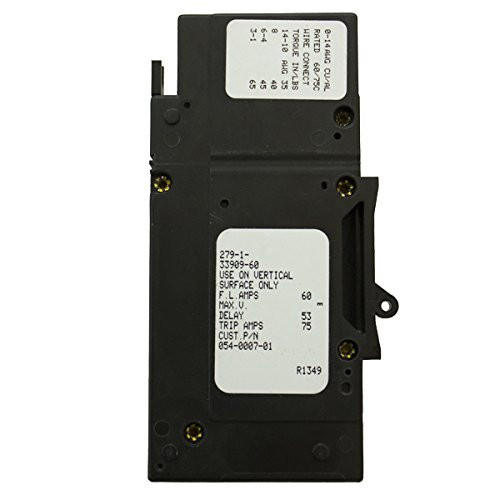 (SCHNEIDER ELECTRIC E-FRAME 60A 160VDC 1POLE PNL MOUNT 1/0 LUG TERM 1 IN WIDE CIRCUIT BREAKER- RNW8651075)